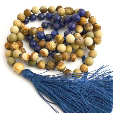 Šamanský náhrdelník IINII - Indigo  - 3