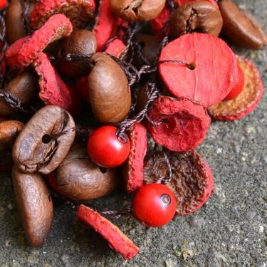Náramek Yaritza - kávová zrna Ekvádor 01  - 3