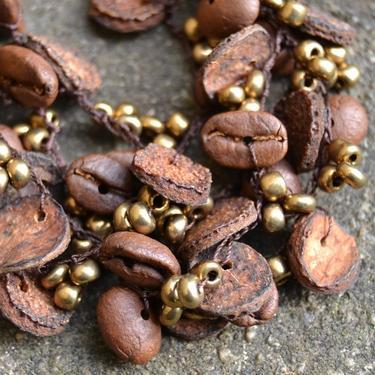 Náramek Yaritza - kávová zrna Ekvádor 03  - 3