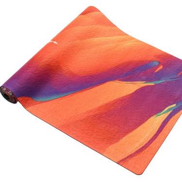 Podložka na jógu - Sunrise oranžová, 2,5 kg  - 3