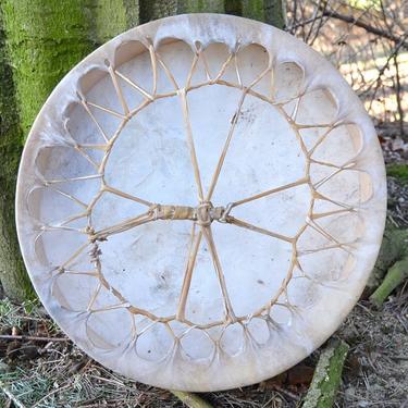 Šamanský buben Jeskynní malba 40 cm  - 3
