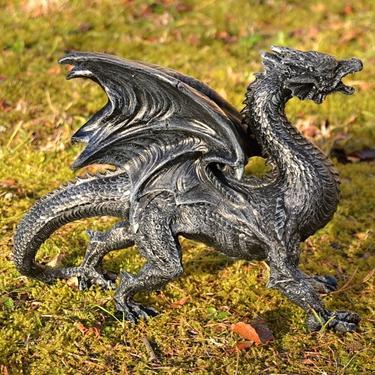 Socha exclusive mytology - Černý drak - 31 cm  - 3