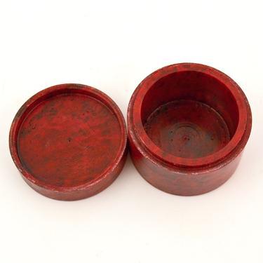 Šperkovnice Mastek Květina, červená  - 3