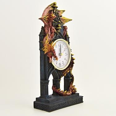 Hodiny fantasy - Drak - Strážce času  - 4