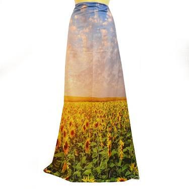 Šátek - přehoz Pole slunečnic  - 4