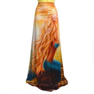 Šátek - přehoz Mořská panna  - 4