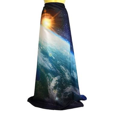 Šátek - přehoz Země ve Vesmíru  - 4