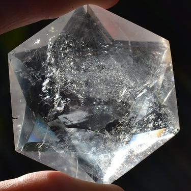 Hexahedron z horského křišťálu 30 mm  - 4