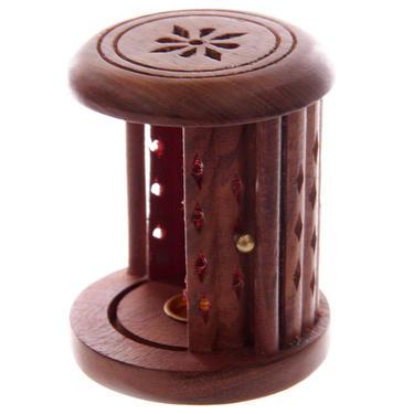 Stojánek na vonné kužely - Dřevěná klec  - 4