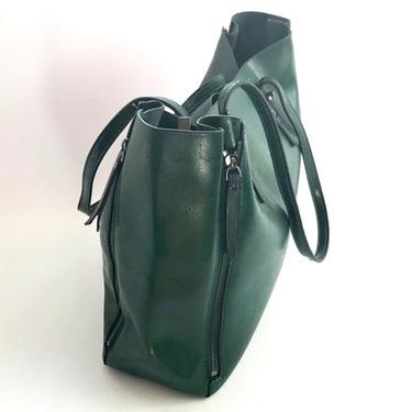Kabelka IINII Glamour - Arica smaragd  - 4
