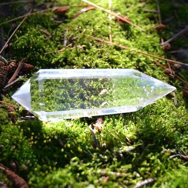 Broušená krystalová hůlka - Křišťál extra 56 g  - 4
