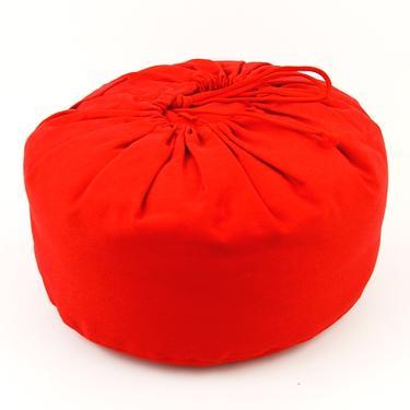Meditační polštář Květ Života červený  - 4