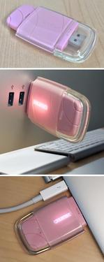 Nimbus USB Q-Link, růžová  - 4