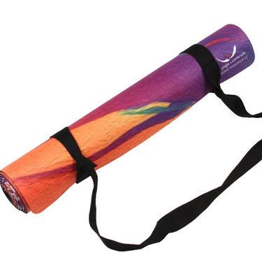Podložka na jógu - Sunrise oranžová, 2,5 kg  - 4