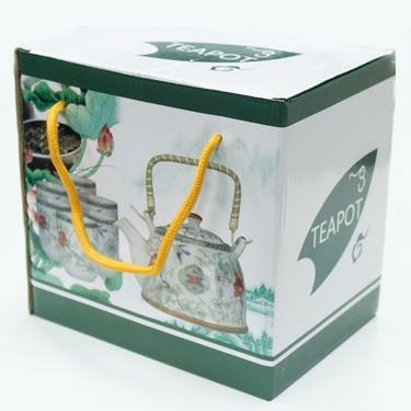Čajová souprava set - Zelená mosaika  - 5