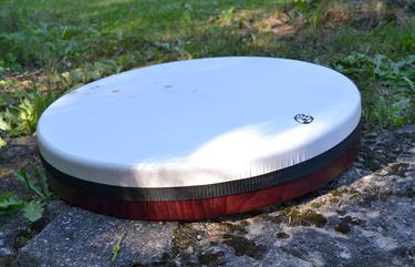 Rámový laditelný buben Daf, kozí kůže 52 cm  - 5