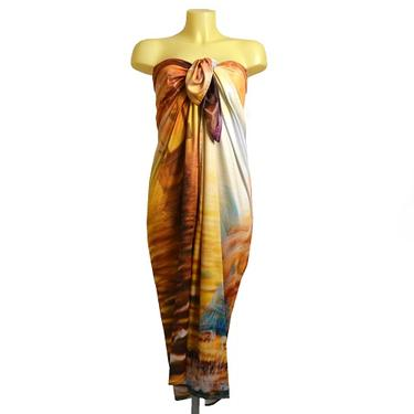 Šátek - přehoz Mořská panna  - 5