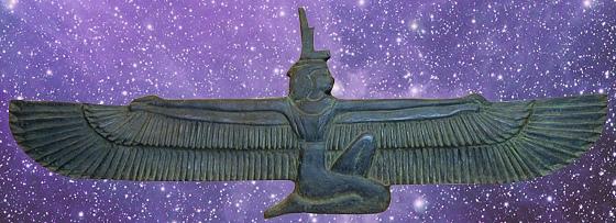 Bohyně Isis Eset
