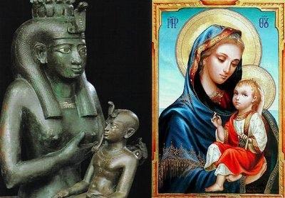 Isis a Marie, Bohyně Matka